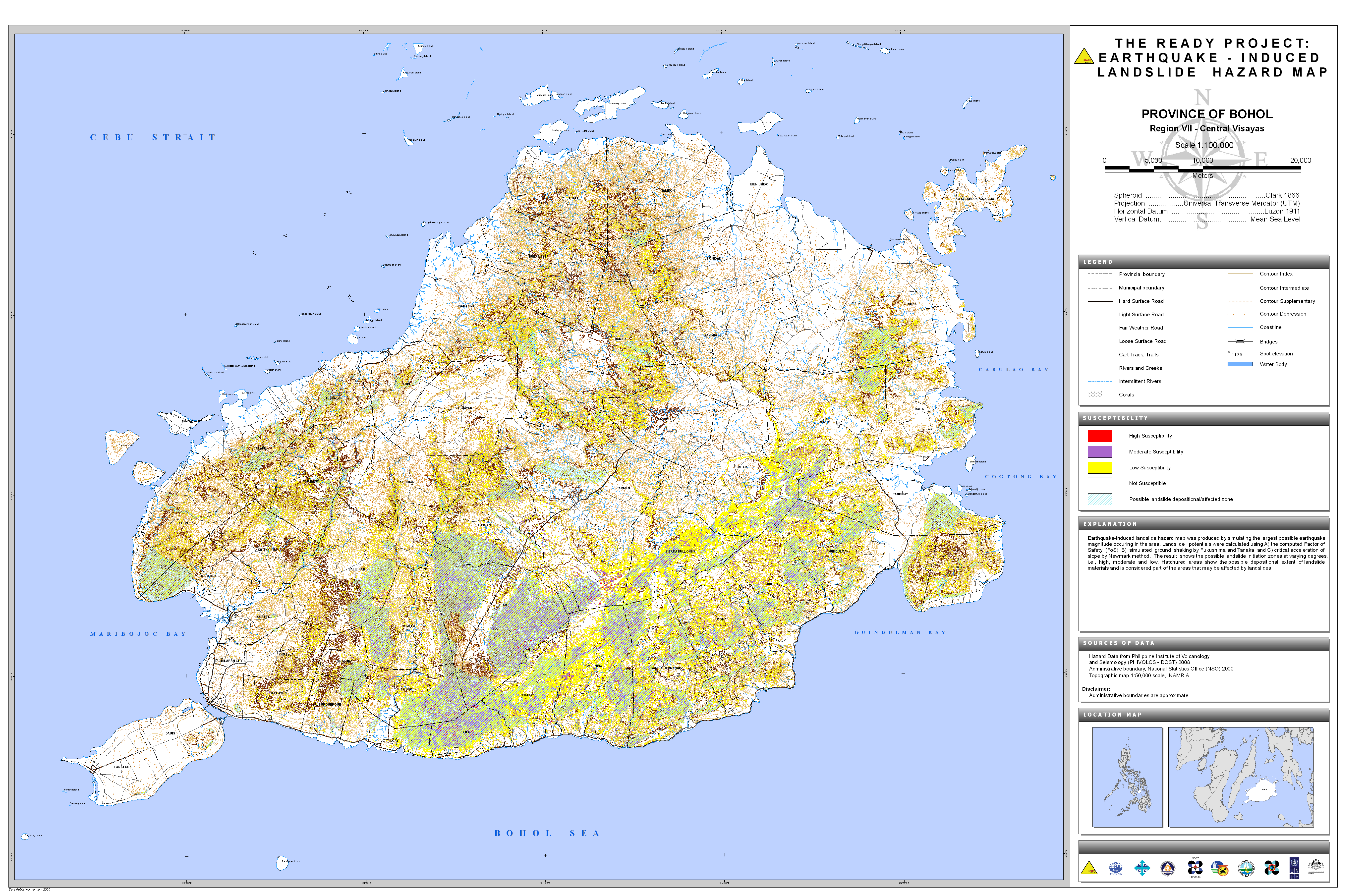 Hazard maps earthquake hazard map final gumiabroncs Image collections
