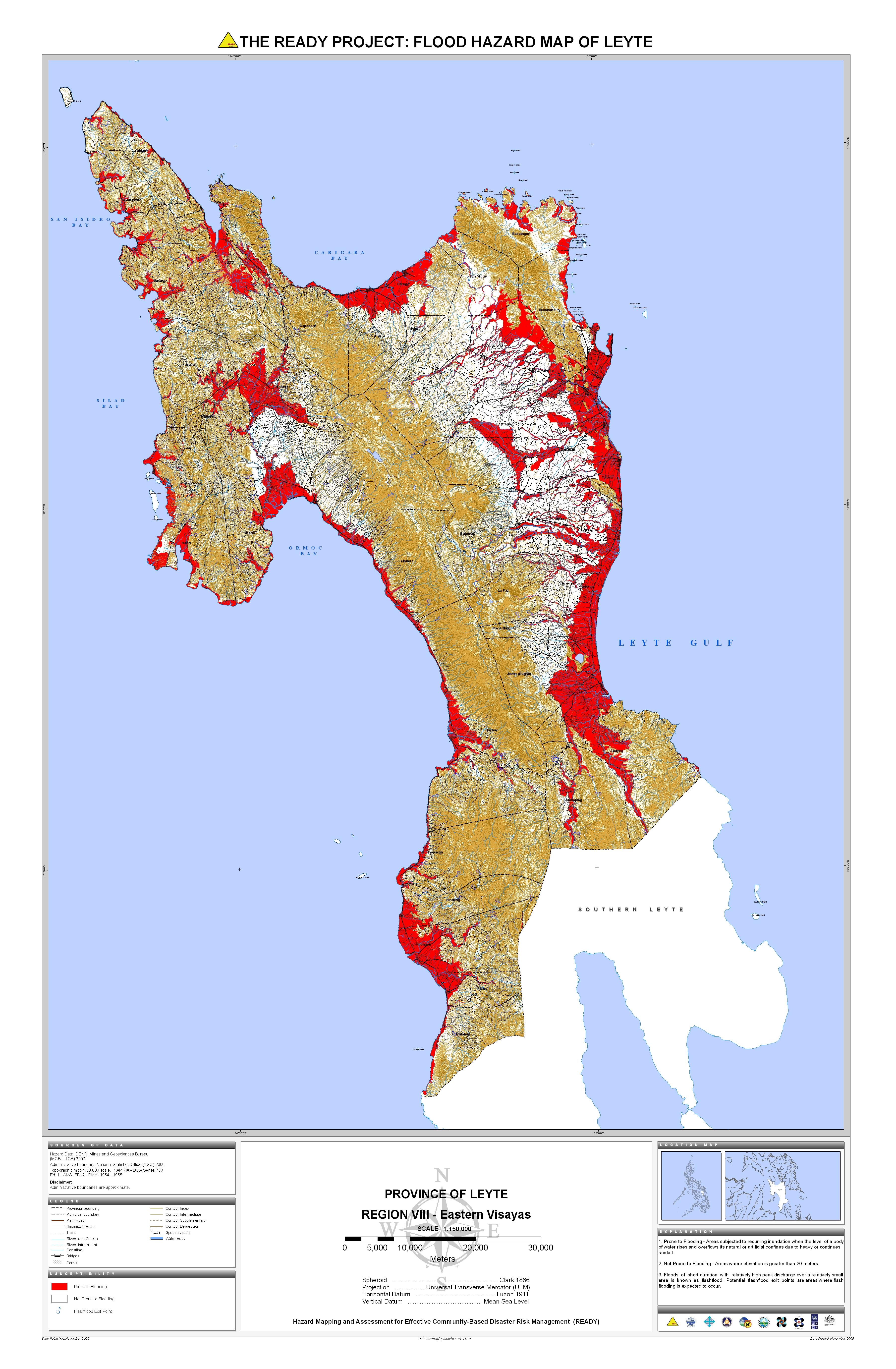 Hazard Maps - Maps philippines